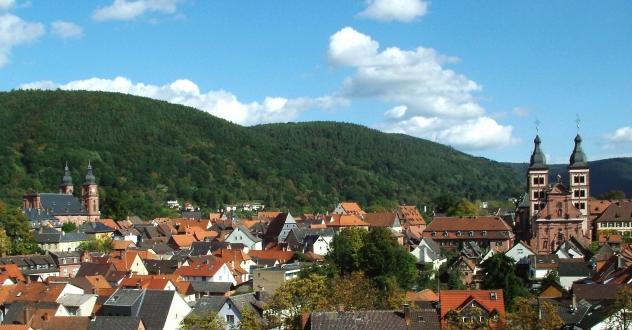 Blick über Amorbach